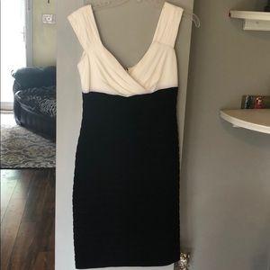Cute Black and Creme dress